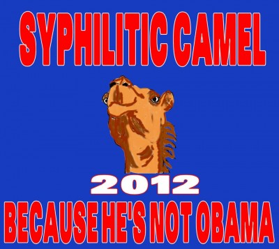 Vote for a Syphilitic camel
