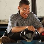 obama bumper car