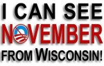 I can see November from Wiscconsin