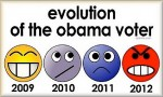 The ecolution of the Obama Voter